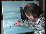 Видеоуроки живописи: Лошадь бегущую по волнам